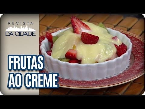 Receita de Frutas ao Creme - Revista da Cidade (06/02/2017)