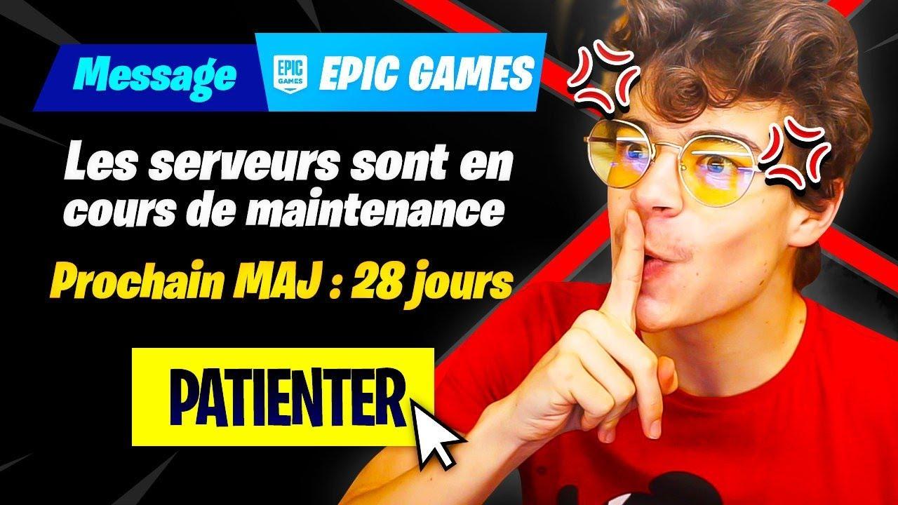 Epic games, faites quelque chose BORDEL !