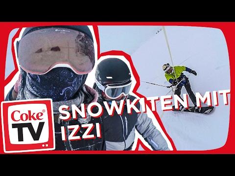 Snowkiten mit izzi   #CokeTVMoment