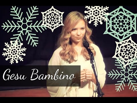Gesu Bambino (Christmas song - Luciano Pavarotti & David Archuleta) by 14 year old Agne G.