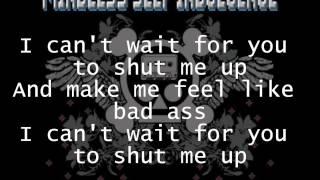 Mindless Self Indulgence - Shut Me Up Lyrics