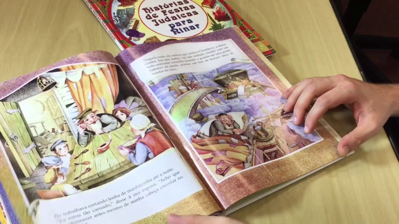 R. Levi Weitman e livros infantojuvenis. Feira do Livro Judaico em Português 2017