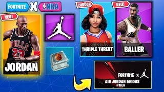 JORDAN Update 😱 Neue Skins, Emotes, Map, Leaks, Patch Notes | Fortnite x Jordan Deutsch