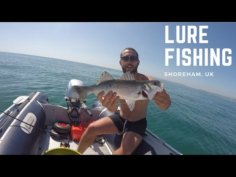 LURE FISHING OFF AN INFLATABLE BOAT - SIB FISHING UK