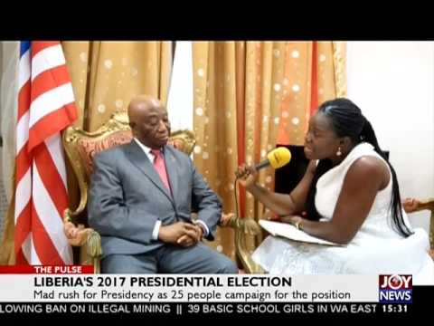 Liberia's 2017 President Election - The Pulse on JoyNews (17-7-17)