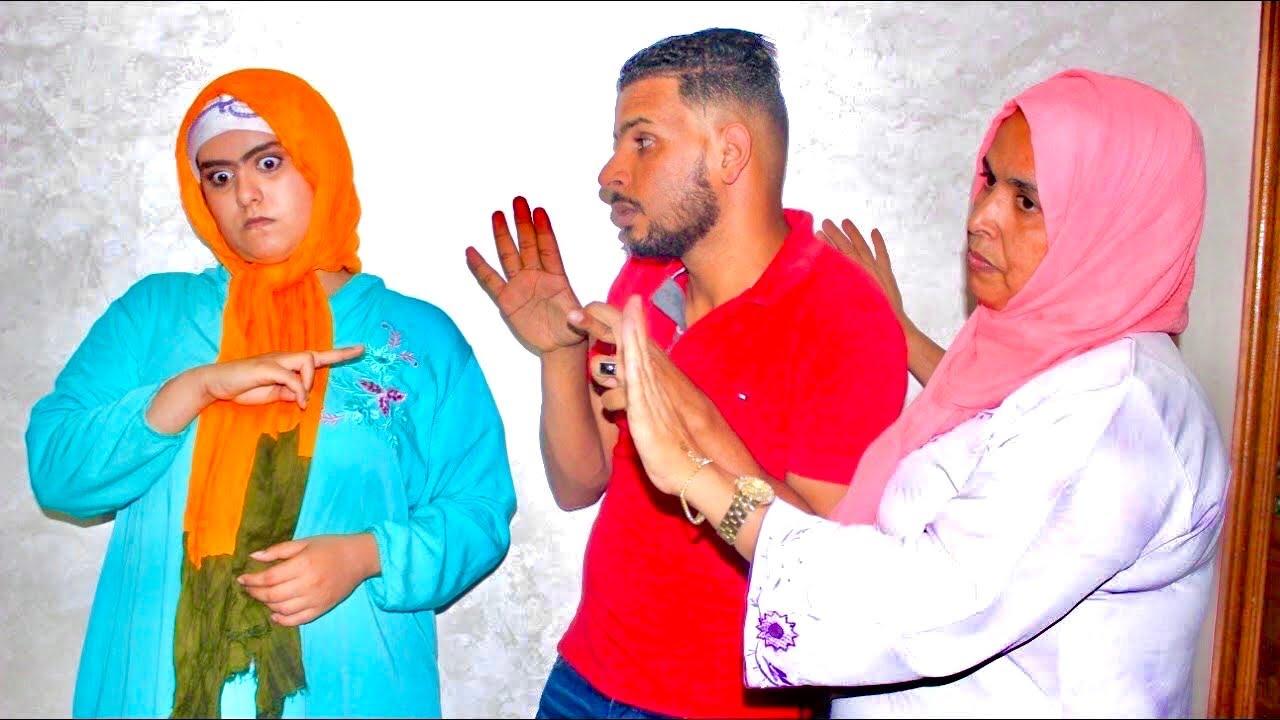اجبرته أمه بزواج بفتاة من البادية رغما عنه٠٠٠بنت العروبية شاهدوا صدمة(المنحوسة)souma سومة