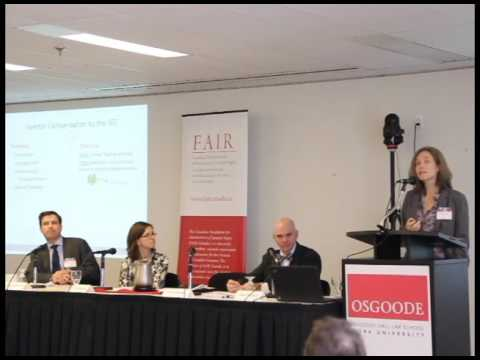 PPSE Conference - Panel 2 - October 26, 2015