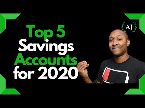 top-5-best-online-high-yield-savings-accounts-2020