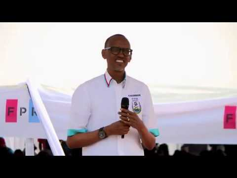 RPF Chairman Paul Kagame campaigns in Nyanza | 14 July 2017