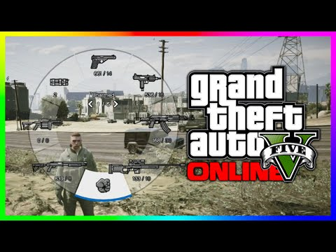 GTA 5 Quick Tip - How To Set A Default Weapon Scroll Wheel (GTA V)
