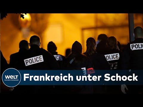 BRUTALE MESSERATTACKE: Lehrer bei mutmaßlichem Terrorangriff nahe Paris enthauptet