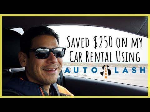 How To Save Money On Rental Cars With AutoSlash | How I Saved $250 On My Recent Car Rental