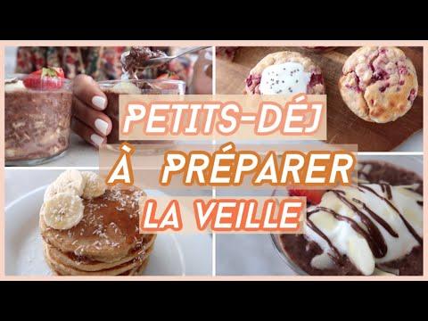 🍓🥞3-petits-dÉjeuners-rapides-et-faciles-|-pratiques-À-préparer-la-veille-!