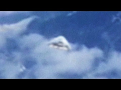 Airline Passenger Films Apparent UFO Over The Alps