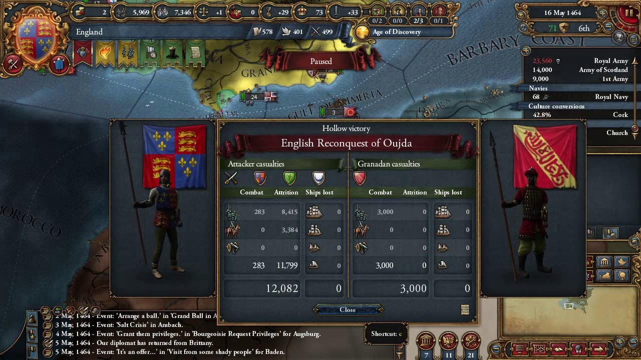 EU4 England 1 25 Playthrough
