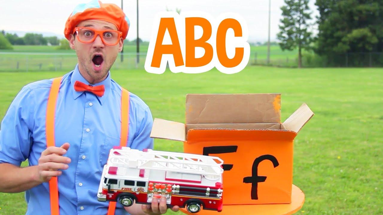 Blippi Learns The Alphabet | Learning ABC's | Blippi Learning Videos | Educational Kids Videos