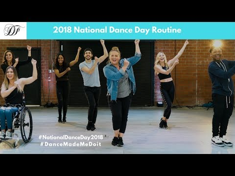 Official 2018 National Dance Day Routine