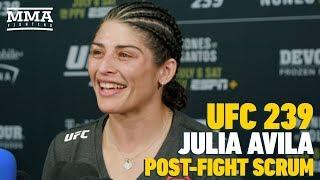 UFC 239: Geologist Turned Fighter Julia Avila Explains Proper Steps For Earthquake Safety