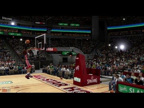 NBA 2K13 - Dunk Contest Feat Lebron James, Russell Westbrook, A.I & Blake Griffin