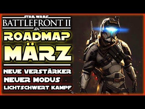 Roadmap für März! Neue Verstärker, neuer Modus, neue Lichtschwert-Kämpfe! - Star Wars Battlefront 2 thumbnail