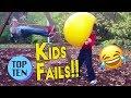 Top 10 Kids Fails of 2017