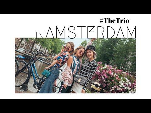 Amsterdam with #TheTrio | Kryz Uy