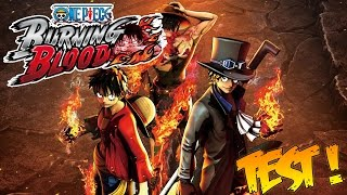 One Piece Burning Blood | Test Complet FR | Le 1er Jeu de Combat Fidèle à la Saga !