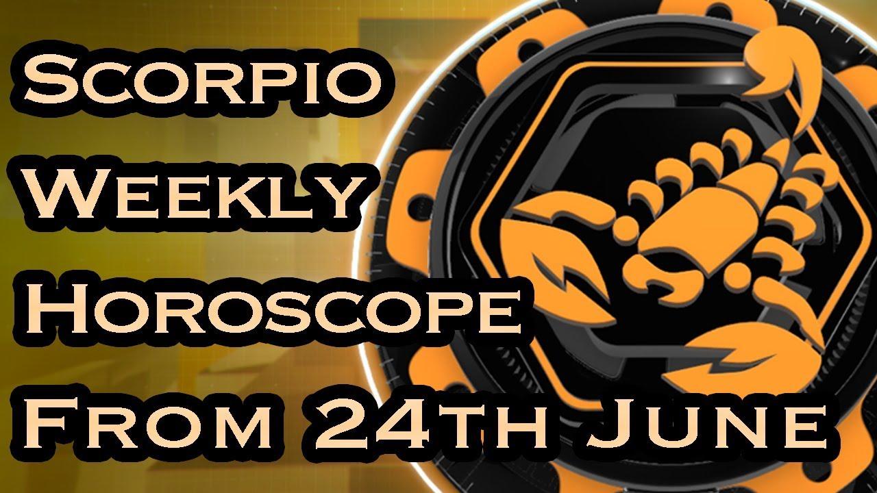 Scorpio Horoscope - Scorpio Weekly Horoscope From 24th June 2019 In Hindi |  Preview