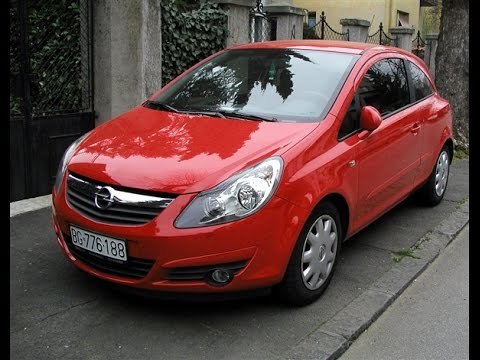 Opel Corsa D завел и поехал