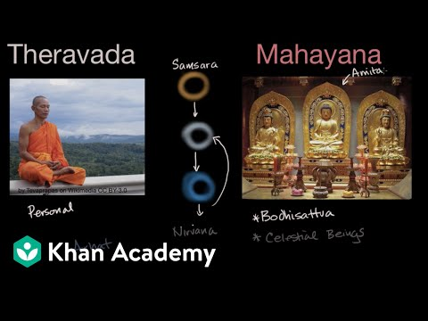 Theravada and Mahayana Buddhism | World History | Khan Academy