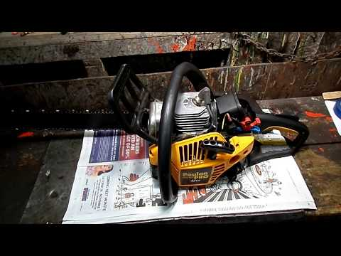 ChainSaw Carburetor Cleaning Part 1
