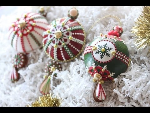 How To Assemble 3 D Christmas Ornament Cookies