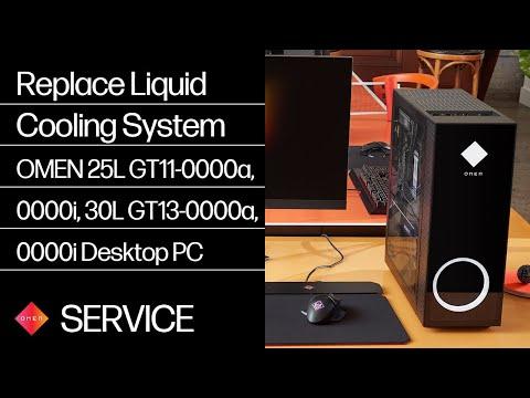 Replace the Liquid Cooling System | OMEN 25L GT11-0000a, 0000i, 30L GT13-0000a, 0000i | HP