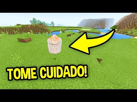 SE ISSO APARECER NO SEU MINECRAFT PE, TOME CUIDADO !!! - Minecraft Pocket Edition
