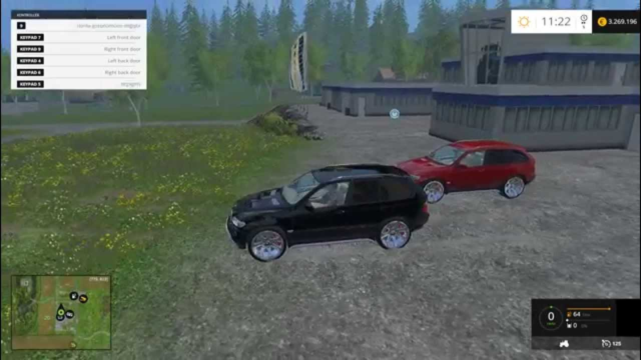 Farming Simulator 2015 2004 Bmw X5 Car Mod Youtube