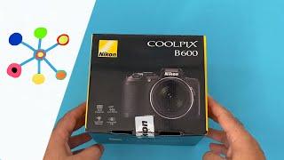 Nikon Coolpix B600 unboxing