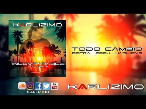 Todo Cambio - Defra feat Egox & Karlizimo / Album Incomparable Vol.2/ Musica Electronica Cristiana