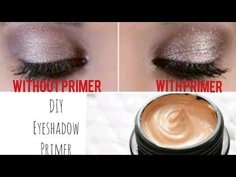 DIY Rs 1000 Eye Primer In  50Rs - How To Make Eyeshadow Primer |