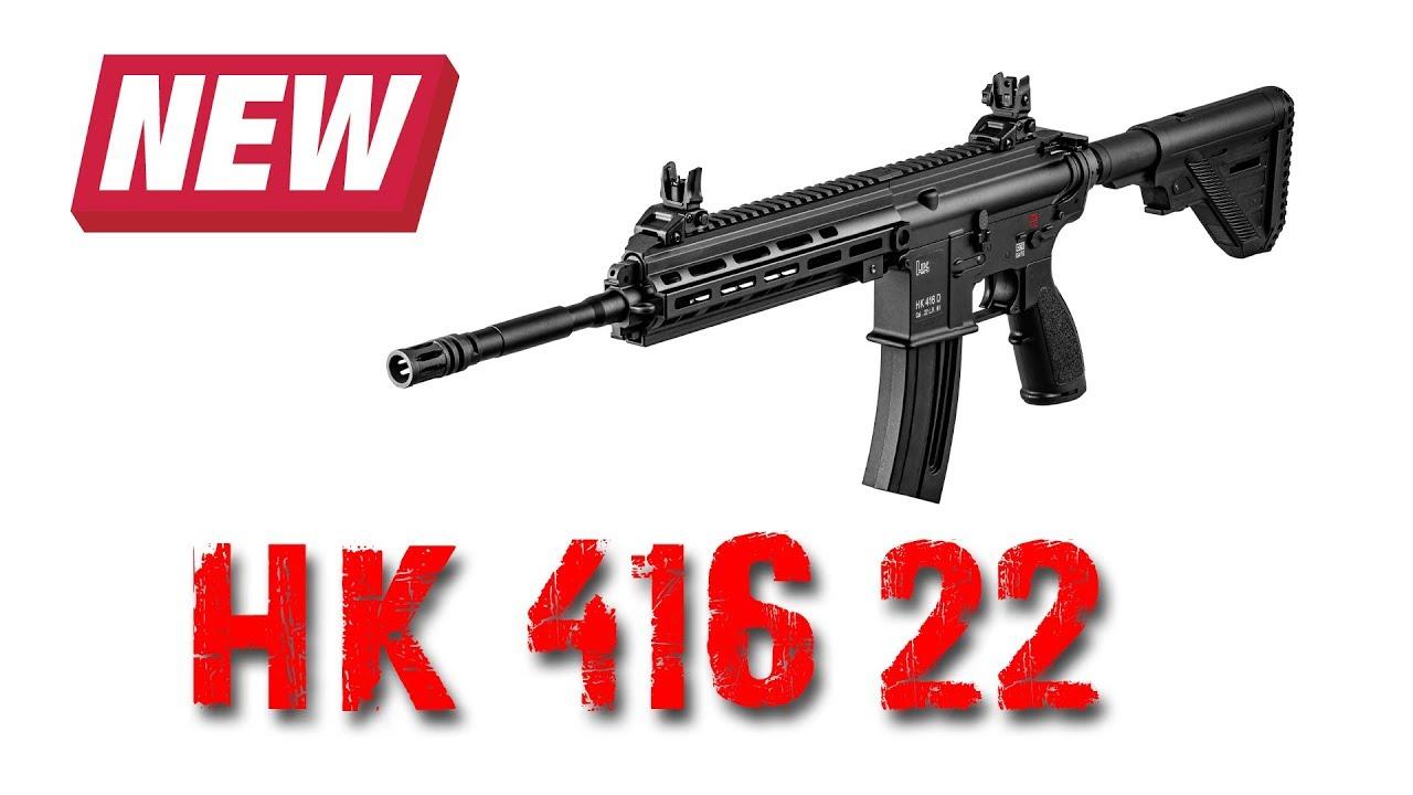 New H&K 416 22lr
