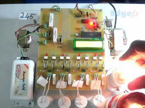 UPFC Related Display of Lag and Lead Power Factor