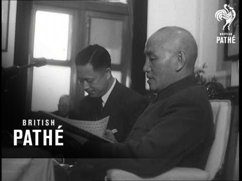 Selected Originals - People In The News - Formosa - Chiang Kai Shek (1955)