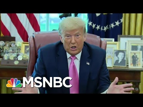 Watch Donald Trump Implode On Fox News Over COVID Falsehoods | The Beat With Ari Melber | MSNBC