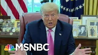 Watch Donald Trump Implode On Fox News Over Covid Falsehoods   The Beat With Ari Melber   Msnbc