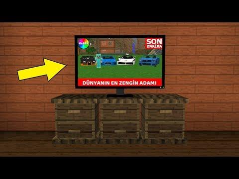ZENGİN TELEVİZYON HABERLERİNE ÇIKTI! ? - Minecraft thumbnail