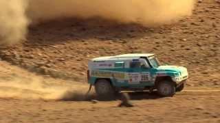 AFRICA ECO RACE 2014 RESUME ETAPE 3