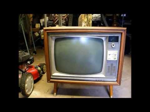 First Look At A 66 Rca Victor Ctc17 Console Color Tv Amp An