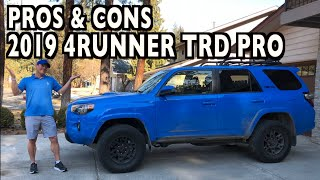 My Pros & Cons: 2019 Toyota 4Runner TRD Pro on Everyman Driver