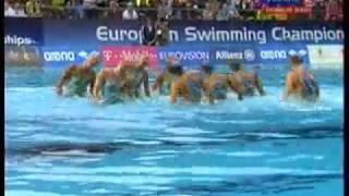 Будапешт, Синхронное плавание  Команда  ЧЕ 2010,