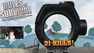 CROSSBOW KILL LAST GUY (Rules of Survival #141)