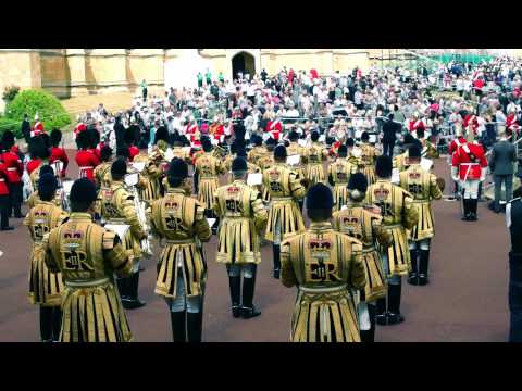 Garter Parade 2015 with the Household Cavalry Band